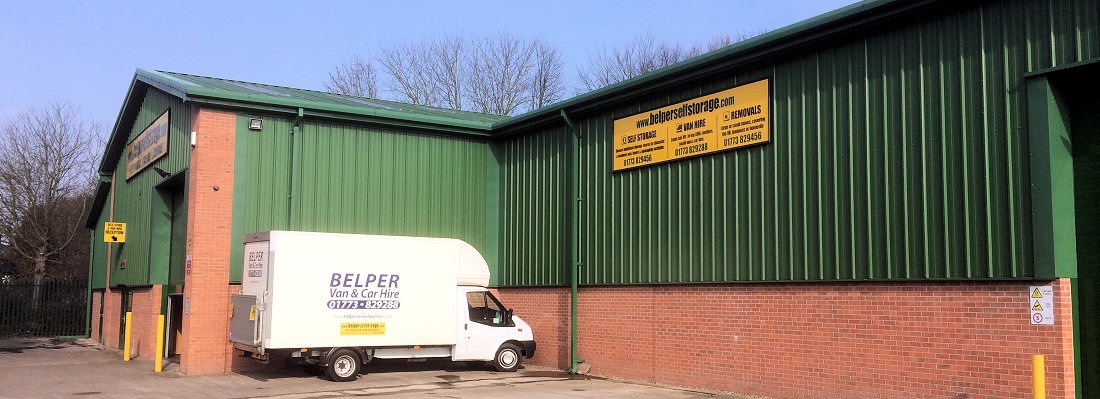Self Storage Facility Belper
